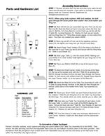 Assembly Instructions PAGE 2